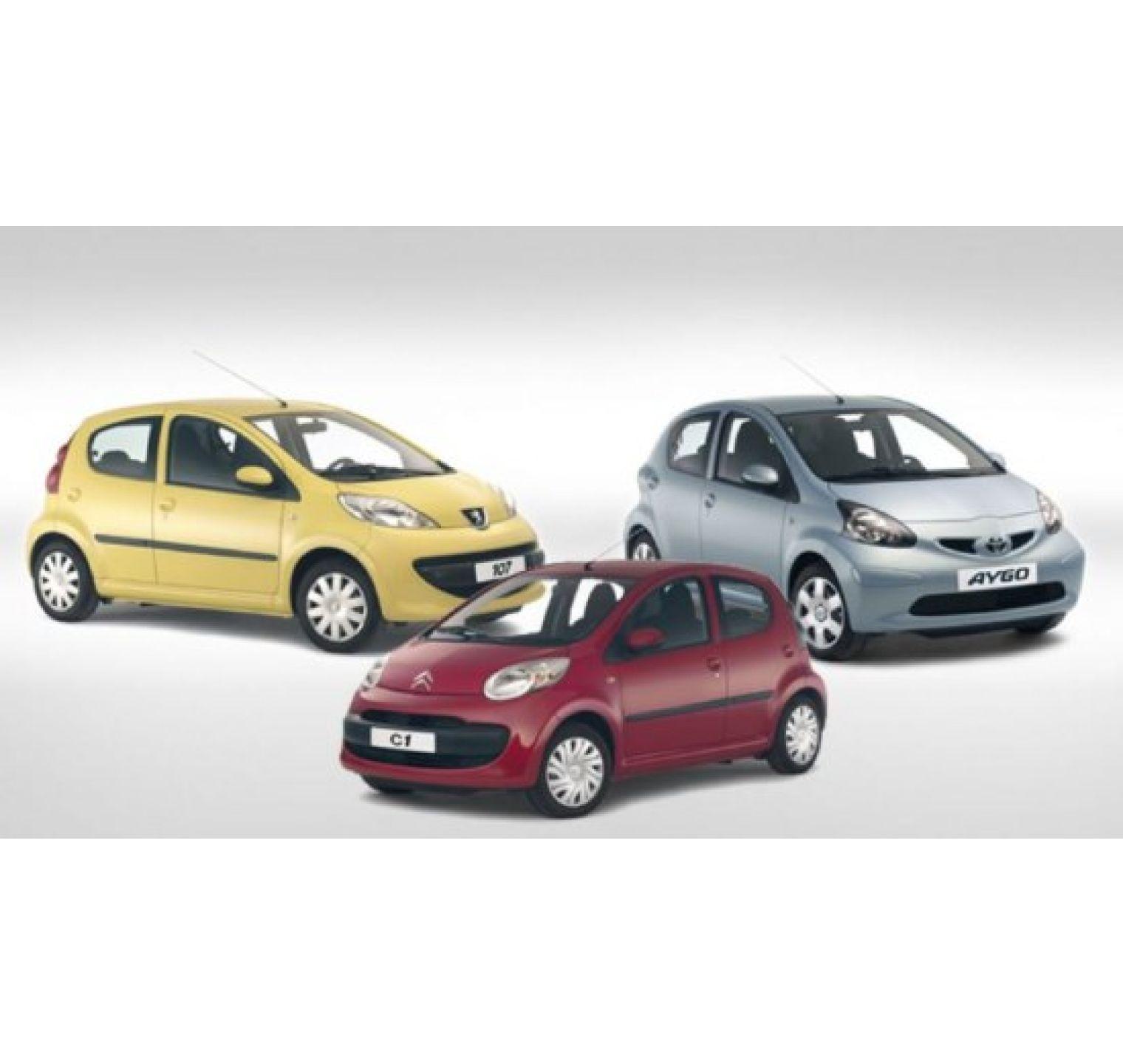 Set aanbieding - alle onderdelen grote beurt voor Peugeot 107 / Citroën C1 / Toyota Aygo